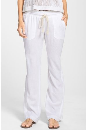 Roxy Women's Oceanside Linen Blend Beach Pants
