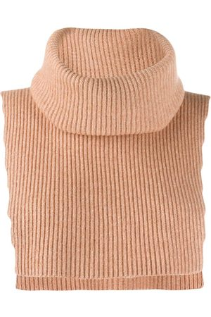 Cashmere In Love Sleeveless neck warmer - Neutrals