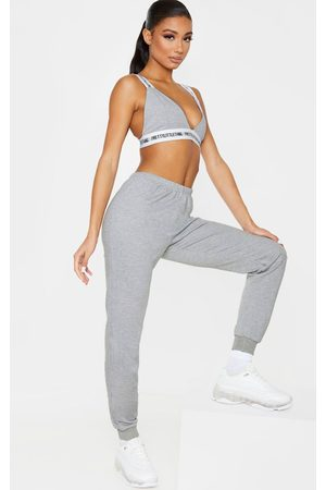 PRETTYLITTLETHING Light Grey Skinny Joggers