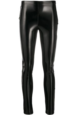 Karl Lagerfeld Patent slim leggings