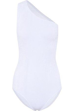 Bottega Veneta One-shoulder swimsuit