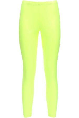 JUNYA WATANABE Women Leggings - Stretch Nylon Leggings