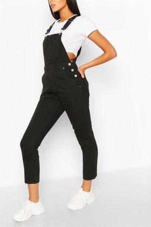 Boohoo Women Boyfriend Jeans - Womens Denim Boyfriend Overall - - 4