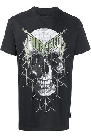 Philipp Plein Men Short Sleeve - Skull print short sleeve T-shirt