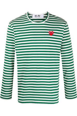 Comme des Garçons Striped long-sleeve T-shirt