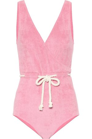 Lisa Marie Fernandez Yasmin terrycloth swimsuit