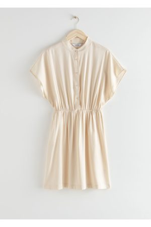 & OTHER STORIES Relaxed Button Mini Dress