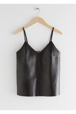 & OTHER STORIES Leather Camisole
