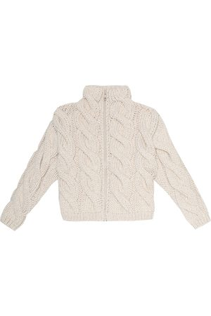 Brunello Cucinelli Cotton-blend sweater jacket
