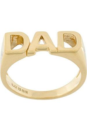 Maria Black Dad ring - Metallic