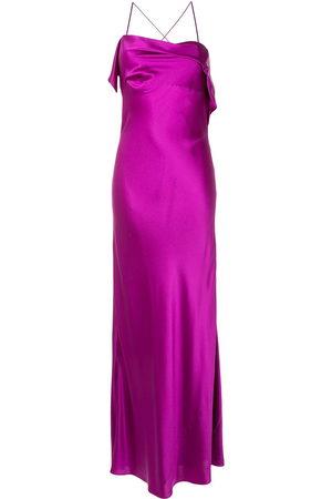 Michelle Mason Women Party Dresses - Draped-neck cocktail dress