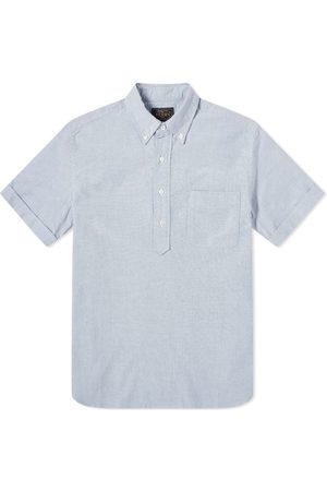 Beams Men Short sleeves - Short Sleeve Popover Shirt