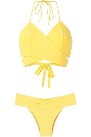 Brigitte Mary wrap bikini set