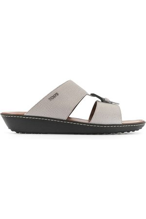 Tod's Buckled cut-out sandals - Grey