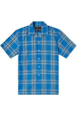 Beams Men Short sleeves - Check Vacation Shirt