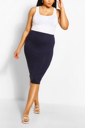 Boohoo Women Pencil Skirts - Womens Plus Midi Tube Skirt - - 24