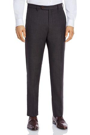 ZANELLA Men Pants - Parker Sharkskin Regular Fit Dress Pants