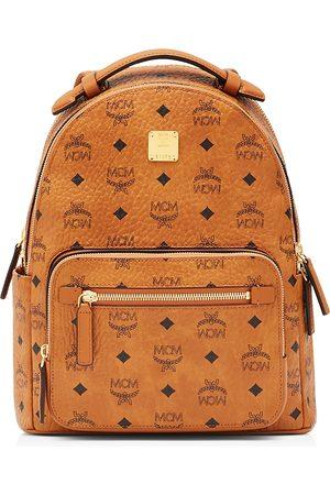 MCM New Stark Small Logo Backpack