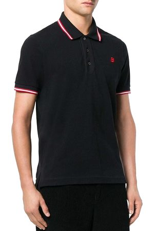 Bally Regular Fit Cotton Tipped Polo
