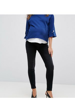 Gebe Premium over-the-bump skinny jeans in