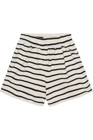 Brunello Cucinelli Girls Skirts - Exclusive to Mytheresa – Striped cotton-jersey shorts