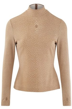 Burberry Rollneck top in stretch jersey