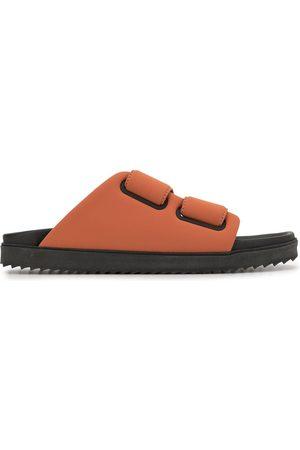 James Perse Touch-strap fussbett slides