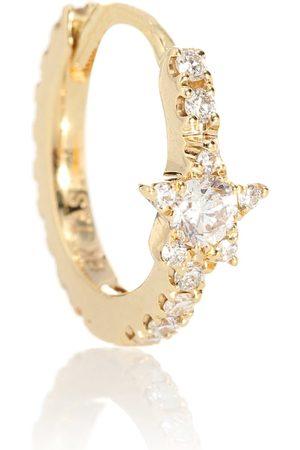 Maria Tash Diamond Star Eternity 18kt single earring with diamonds