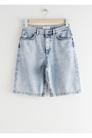 & OTHER STORIES High Rise Denim Shorts