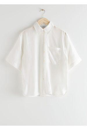 & OTHER STORIES Loose Silk Shirt
