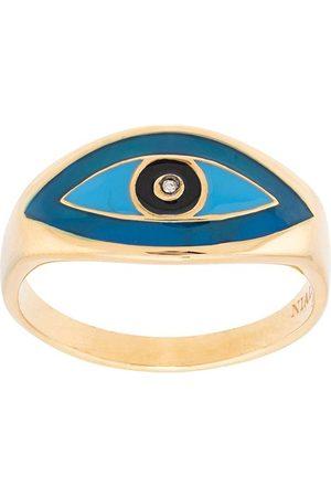 Nialaya Men Rings - Evil eye ring