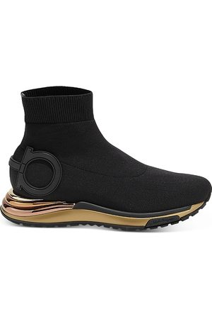 Salvatore Ferragamo Women's Slip On Platform Sneakers