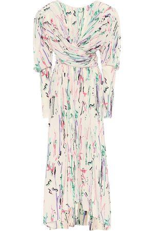 Isabel Marant Filao printed stretch-silk midi dress