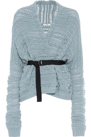 Brunello Cucinelli Exclusive to Mytheresa – Belted cotton cardigan