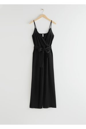 & OTHER STORIES Spaghetti Strap Ribbed Jumpsuit
