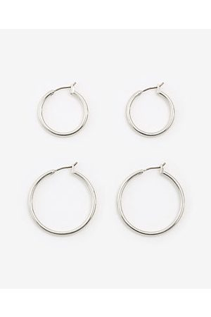 ANN TAYLOR Hoop Earring Set