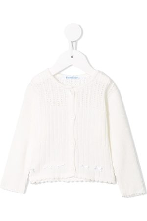 Familiar Ribbed long sleeve cardigan