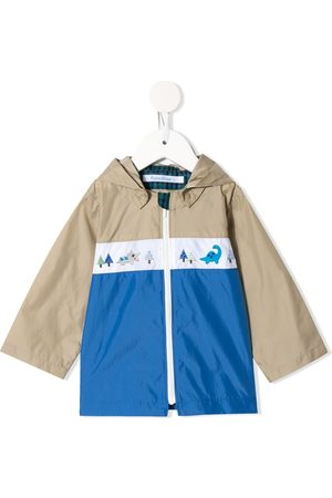Familiar Hooded colour-block jacket - BG