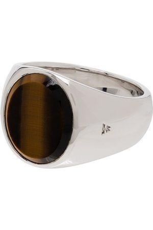TOM WOOD Tiger eye ring