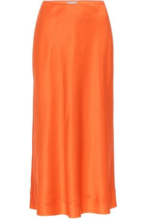 Lee Mathews Exclusive to Mytheresa – Stella silk-satin slip skirt