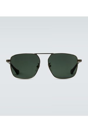 Gucci Squared aviator-inspired sunglasses