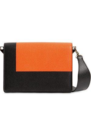 VALEXTRA Small Swing Leather Crossbody Bag
