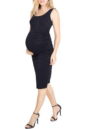 Ingrid & Isabel Women Tank Tops - Ruched Tank Maternity Dress