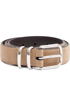 Anderson's Men Belts - Double-bar Suede Belt - Mens