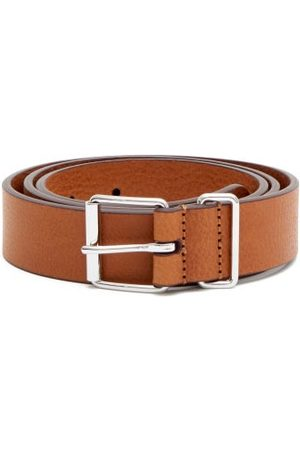 Anderson's Men Belts - Leather Belt - Mens - Tan
