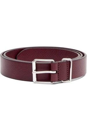 Anderson's Leather Belt - Mens - Burgundy