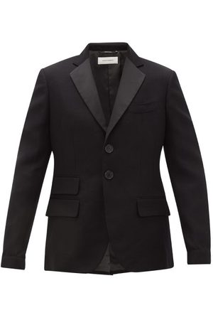 WALES BONNER Diego Single-breasted Cotton-blend Blazer - Mens