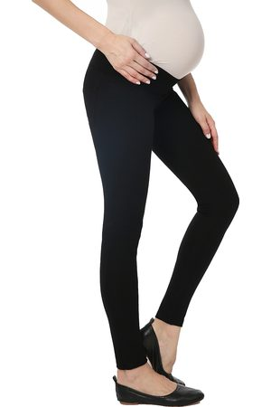 Kimi and Kai Women's Brandi Under The Belly Maternity Leggings