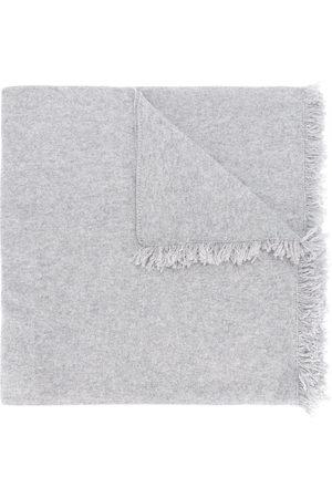 PRINGLE OF SCOTLAND Fringed trim lightweight scarf - Grey