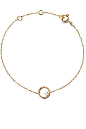 AS29 Women Bracelets - 18kt yellow Mye round beading diamond bracelet